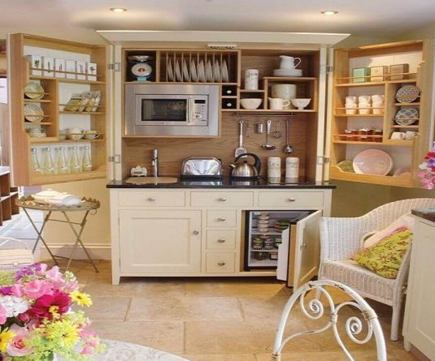 23 Efficient Free Standing Kitchen Cabinets Best Design
